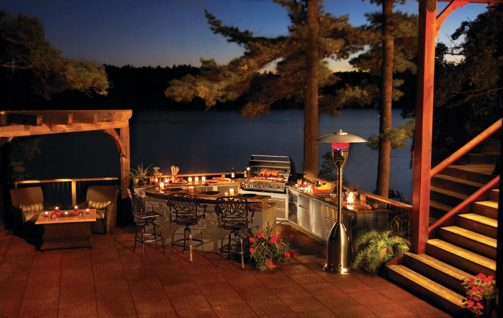Real Outdoor lighting & Fireplaces