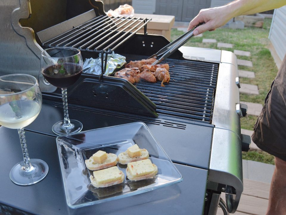 Customized BBQ at Real fireplace